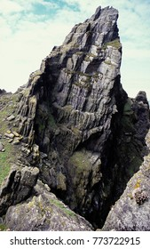 St. Fionan's monastery ruins on Great Skellig Island