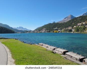 St. Moritz / Saint-Moritz / Sankt Moritz / San Murezzan / Maloja / Graubunden / Switzerland