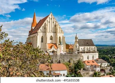St. Nicholas Cathedral in Znojmo Czech Republic