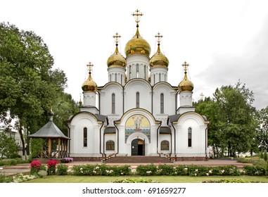 St. Nicholas Cathedralin in St. Nicholas Monastery. Pereslavl-Zalessky. Yaroslavl Oblast. Russia