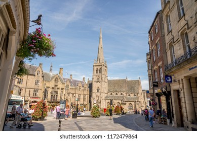 St Nicholas' Church, commonly known as St Nic's, is a Church of England place of worship located on Durham marketplace - United Kingdom. Photo taken on August 5 2018