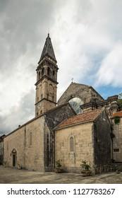 St. Nicholas Church, Old Town Perast in Montenegro