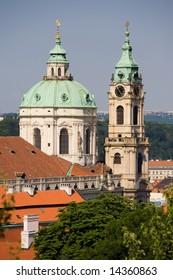 St. Nicholas church in Prague.