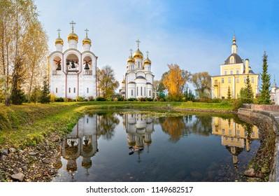 St. Nicholas convent Pereslavsky in Pereslavl-Zalessky, Yaroslavl Oblast, Russia