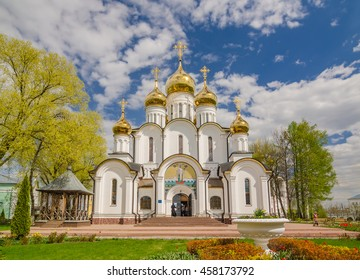 The St. Nicholas Monastery (or Nikolsky Monastery) is a Russian Orthodox monastery in Pereslavl-Zalessky, Russia. Golden Ring of Russia.