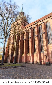 St. Nicolai chuch in Luneburg. Lower Saxony. Germany
