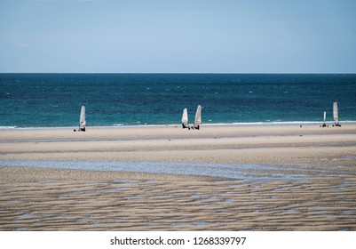 St. Ouens Bay, Jersey, Beach Sailer