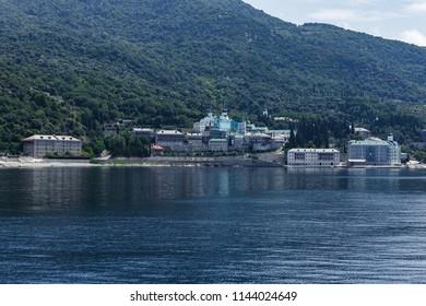 St Panteleimon Monastery Mt Athos