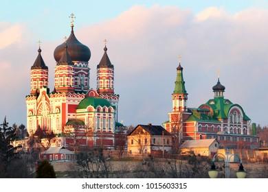 St. Panteleimon's Cathedral in Theophania, neighbourhood of Kyiv, Ukraine