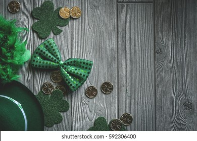 St. Patrick's Day Background - Shutterstock ID 592306400