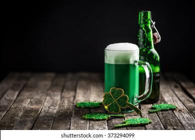 St. Patrick's day holiday celebration, lucky concept