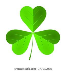 St. Patrick's Day illustration - clover, shamrock