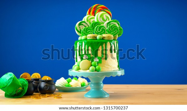 St Patricks Day Party Table Lollipop Stock Photo (Edit Now) 1315700237