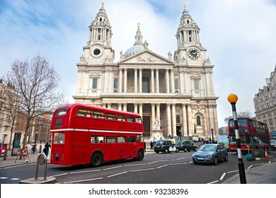 St Paul Cathedral, London, UK.