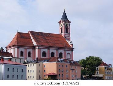 St. Paul Catholic Church in Passau