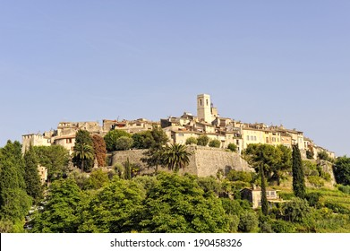 St Paul de Vence, artists mountain village in the South of France