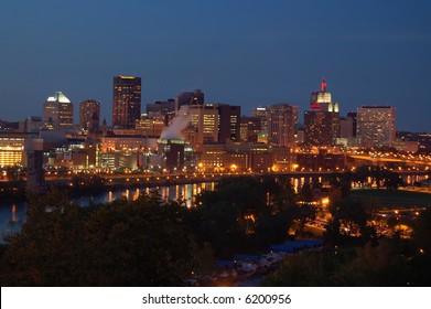 St. Paul, Minnesota skyline