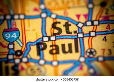 St. Paul. Minnesota. USA