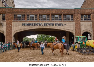 St. Paul, Minnesota, USA 8-28-19 The Minnesota State Fair is one of the largest in the United States