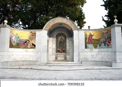 St. Paul Monument in Berea (Greece). Main monument.