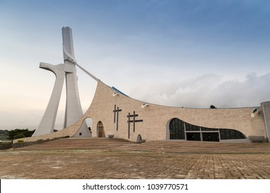 St Paul's Cathedral in Abidjan.