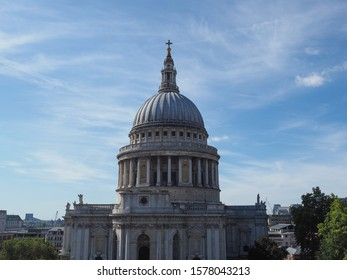 St Paul's Cathedral church in London, UK