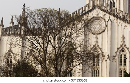 St Paul's Cathedral in Kolkata, India