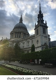 St Paul's Cathedral in London England is the seat of the Anglican Church