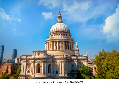St. Paul's Cathedral in London, UK