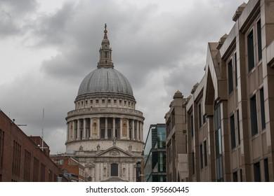 St Paul's Cathedral from Millenium Bridge