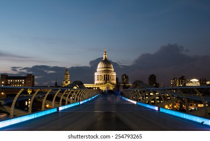 St Paul's Cathedral and the Millennium Footbridge
