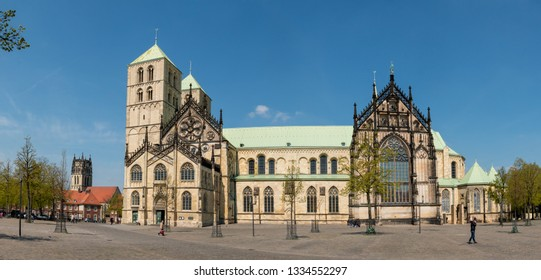 St. Paul's Cathedral Muenster, North Rhine-Westphalia (NRW)