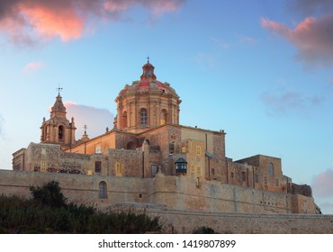St. Paul's Cathedral of Old Town Mdina