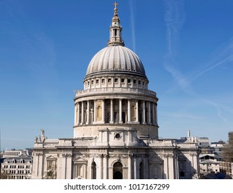 St Pauls Church in the City of London, England