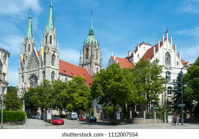 St. Paul's church in Munich
