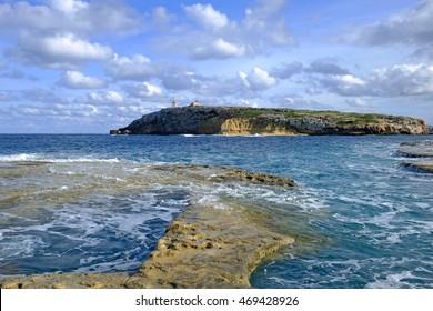 St Pauls Island off the north east coast of Malta.
