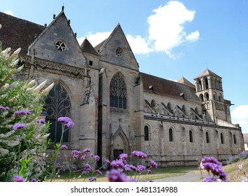 St. Peter and Paul Church of the Benedictine Priory of Souvigny, Allier, France