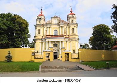 St. Peter and Paul Church Vilnius