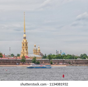 St. Peter and Pavel cathedral in the Peter and Paul Fortress in St.- Petersburg Russia