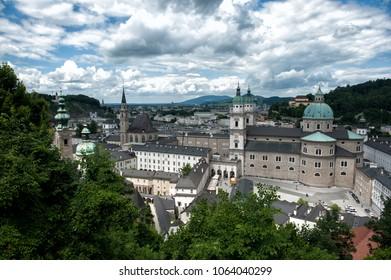 St Peter's Abbey in Salzburg