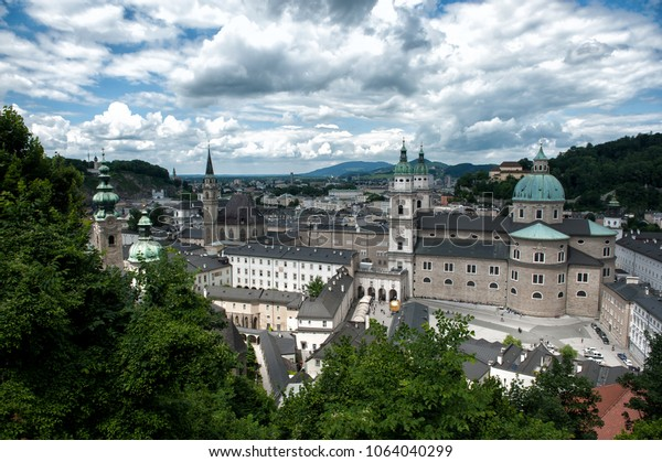 St Peter's Abbey in Salzburg