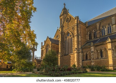 St Peters Cathedral in Adelaide South Australia is the seat to the Anglican Archbishop of South Australia
