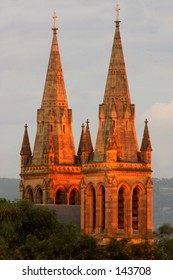St Peter's Cathedral in Adelaide, from the west...