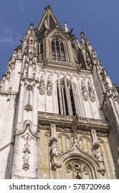 St. Peter's Cathedral in Regensburg, Germany