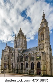 St. Peter's Church is the Catholic Church of the 15th century in Coutances, France