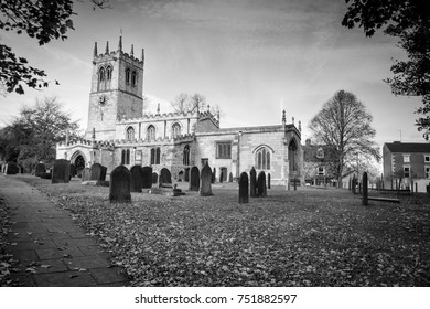 St Peter's Church in Conisbrough, South Yorkshire, 8th century Anglo-Saxon.