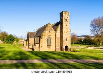 St Peter's Church in Sunderland, Tyne and Wear, England, UK