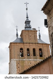 St Peters church Tordesillas monumental town in Castile Leon Spain