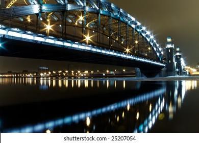 St. Petersburg, bridge of great Peter