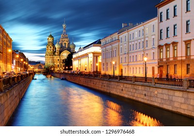 St. Petersburg - Church of the Saviour on Spilled Blood, Russia